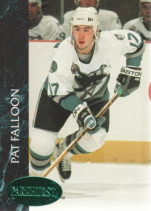 1992-93 Parkhurst Emerald Ice #161 Pat Falloon