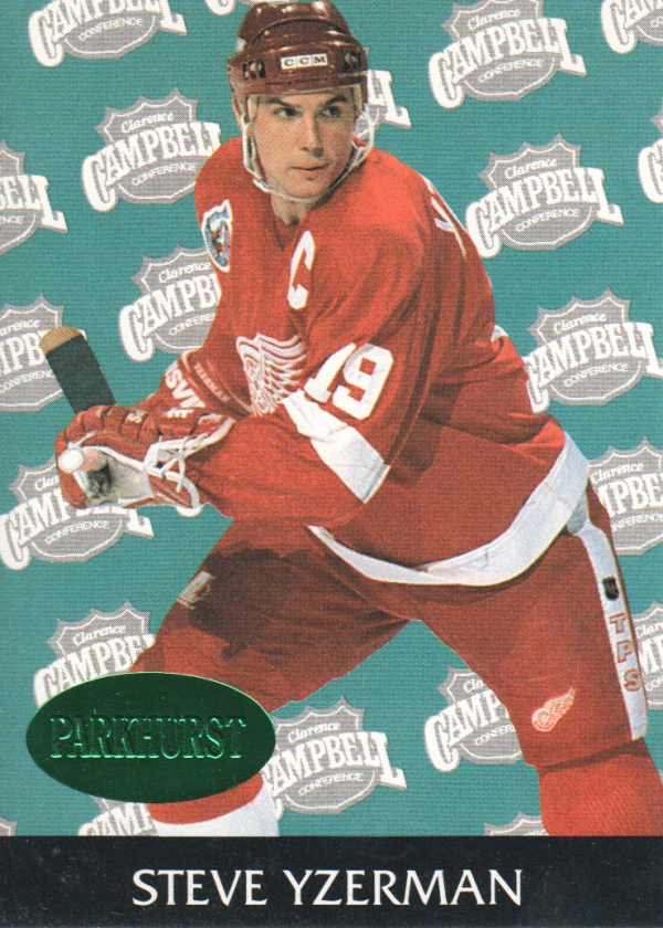 1992-93 Parkhurst Emerald Ice #456 Steve Yzerman AS