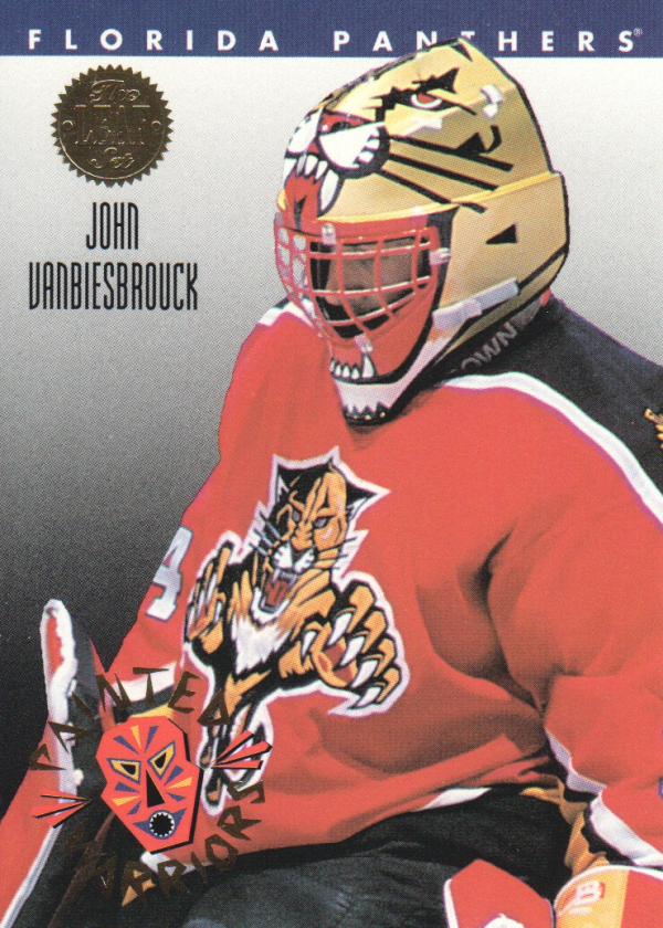 1993-94 Leaf Painted Warriors #8 John Vanbiesbrouck