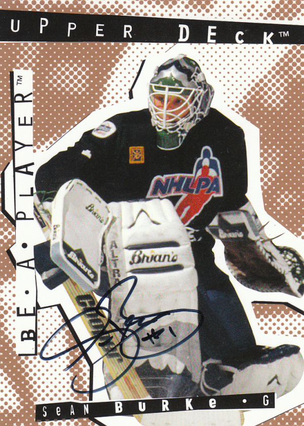 1994-95 Be A Player Autographs #53 Sean Burke