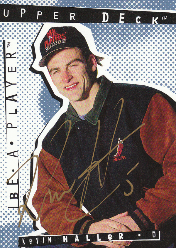 1994-95 Be A Player Autographs #56 Kevin Haller