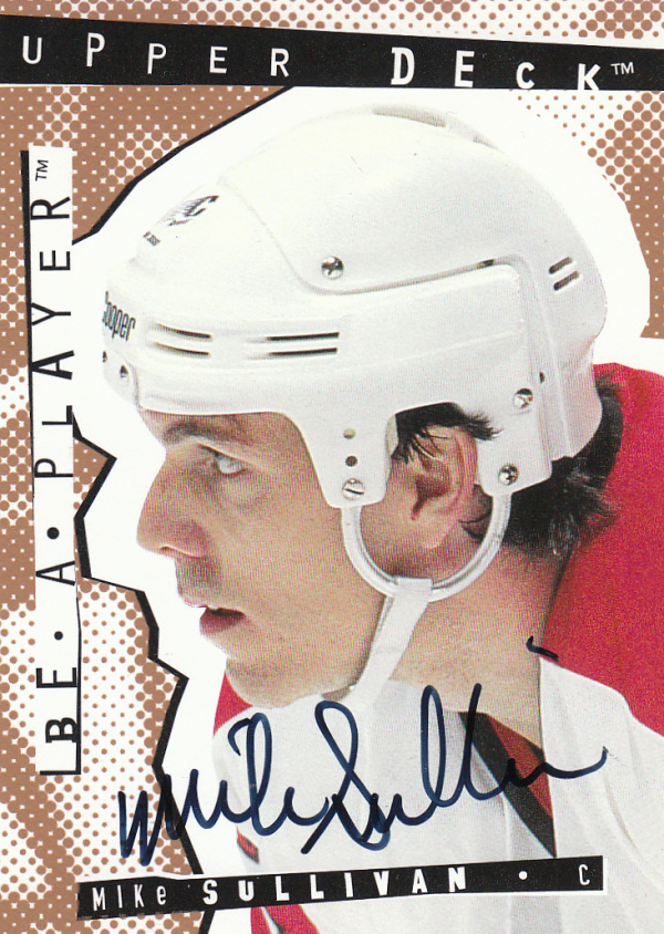 1994-95 Be A Player Autographs #75 Mike Sullivan