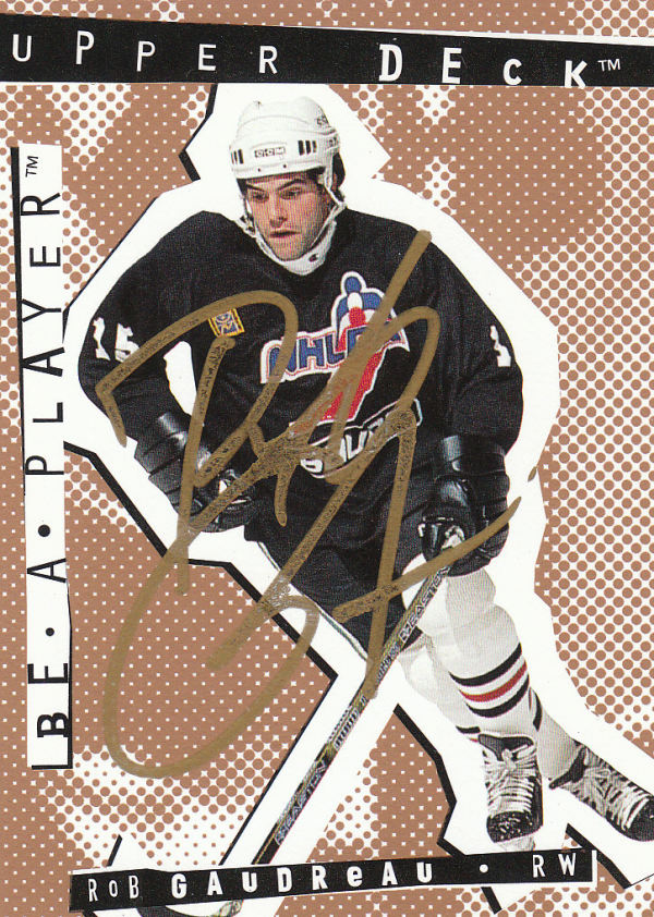 1994-95 Be A Player Autographs #85 Rob Gaudreau