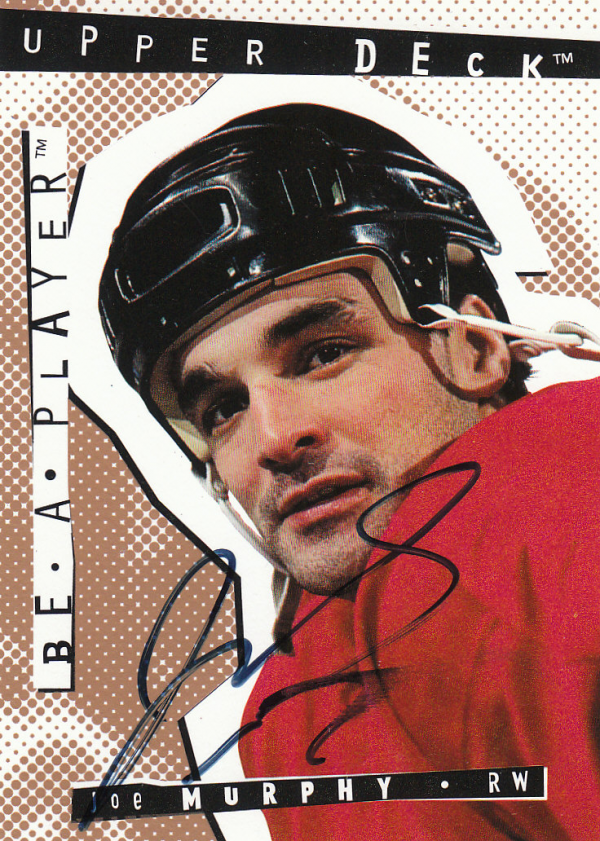1994-95 Be A Player Autographs #87 Joe Murphy