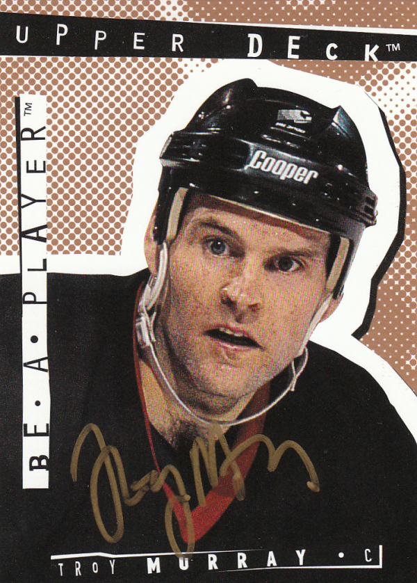 1994-95 Be A Player Autographs #176 Troy Murray