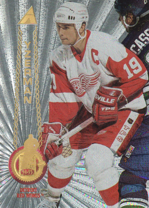 1994-95 Pinnacle Rink Collection #271 Steve Yzerman