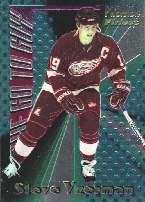 1994-95 Topps Premier The Go To Guy #12 Steve Yzerman