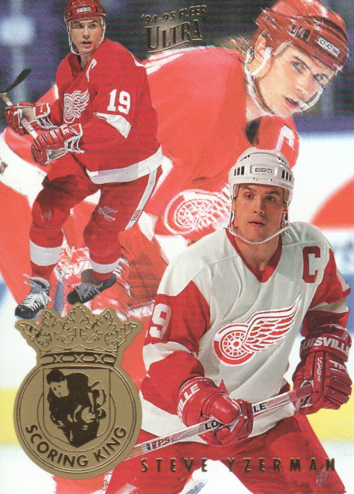 1994-95 Ultra Scoring Kings #7 Steve Yzerman