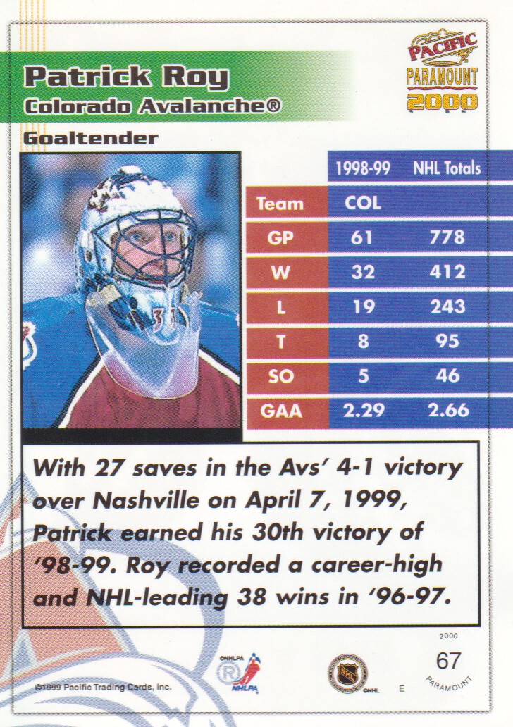 1999-00-Paramount-Emerald-Parallel-Hockey-Cards-Pick-From-List thumbnail 5