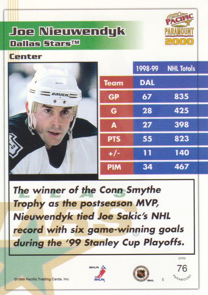 1999-00-Paramount-Emerald-Parallel-Hockey-Cards-Pick-From-List thumbnail 7