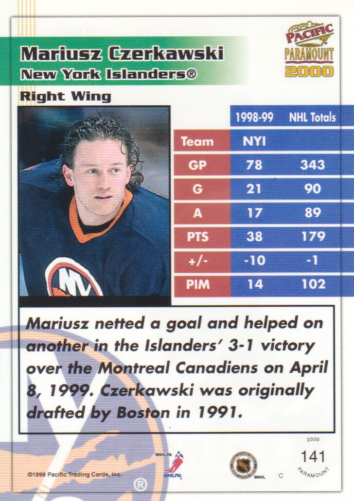 1999-00-Paramount-Emerald-Parallel-Hockey-Cards-Pick-From-List thumbnail 17