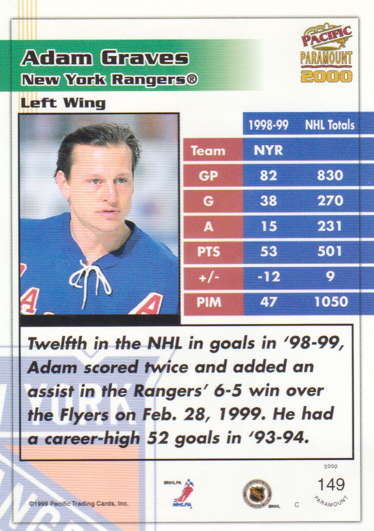 1999-00-Paramount-Emerald-Parallel-Hockey-Cards-Pick-From-List thumbnail 21