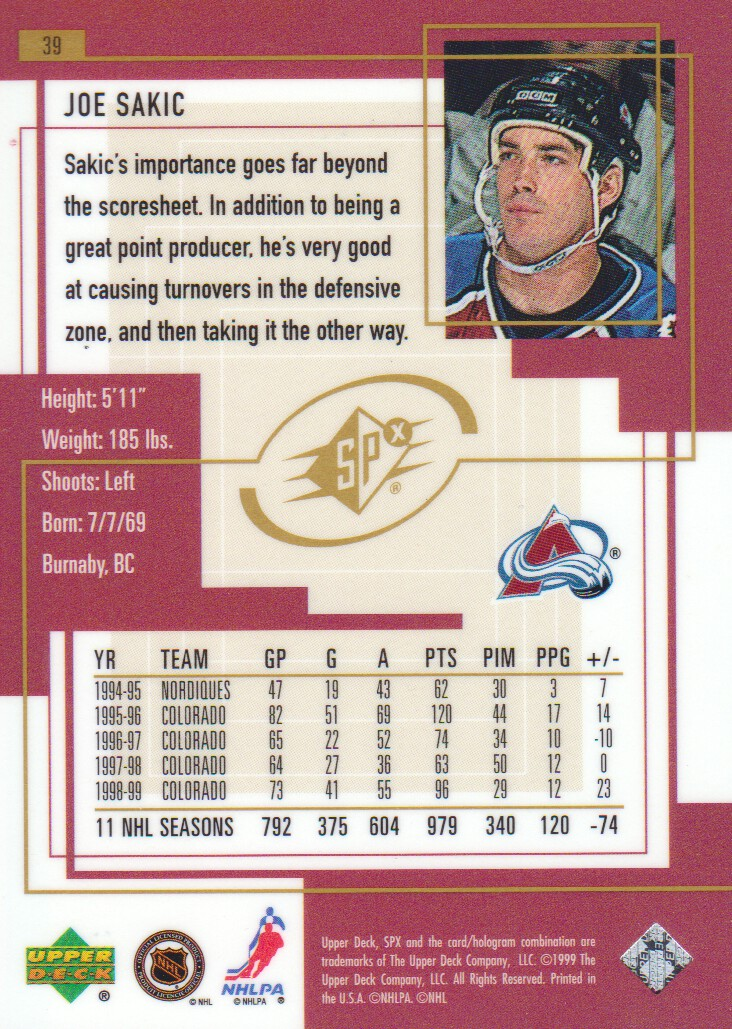 1999-00-SPx-Hockey-Cards-Pick-From-List miniature 57
