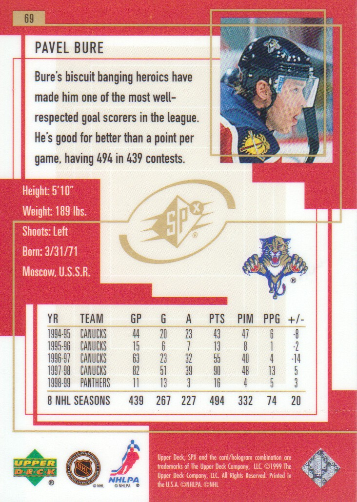 1999-00-SPx-Hockey-Cards-Pick-From-List miniature 105