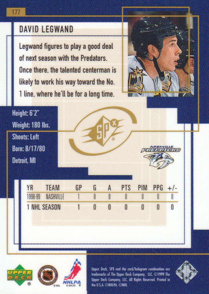1999-00-SPx-Hockey-Cards-Pick-From-List miniature 245