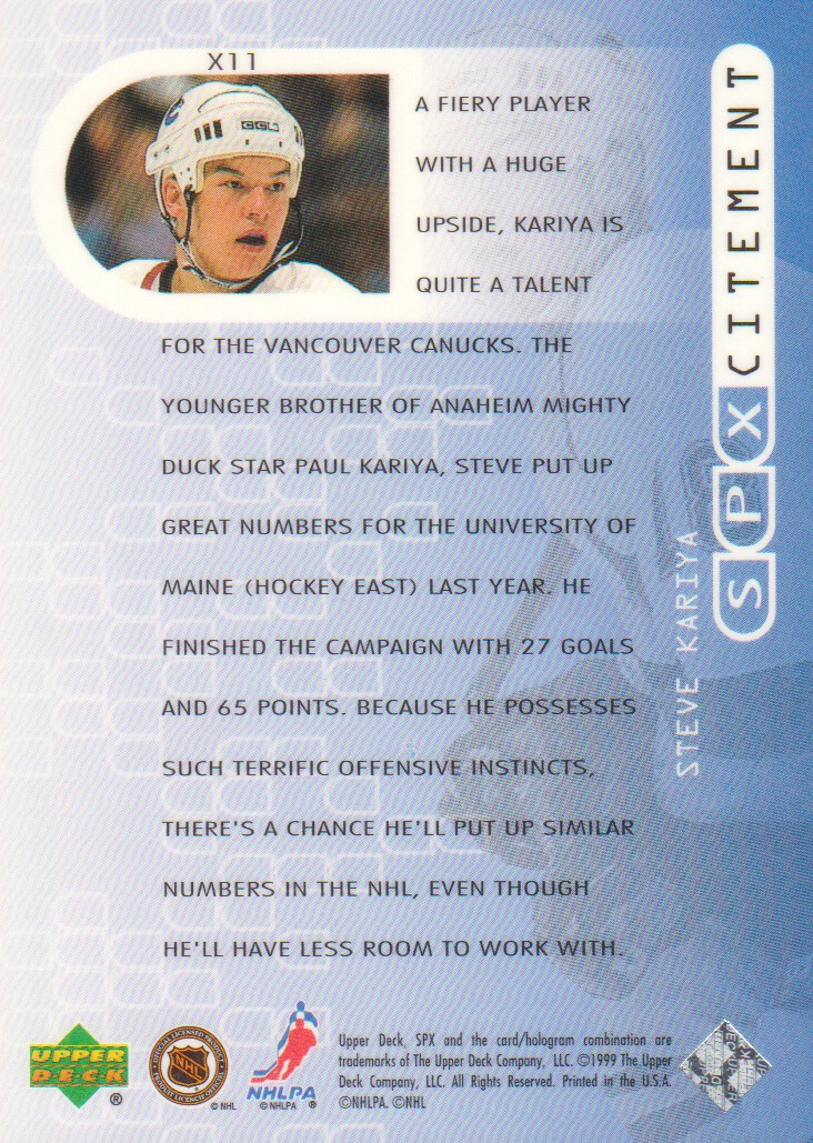 1999-00-SPx-SPXcitement-Hockey-Cards-Pick-From-List thumbnail 7