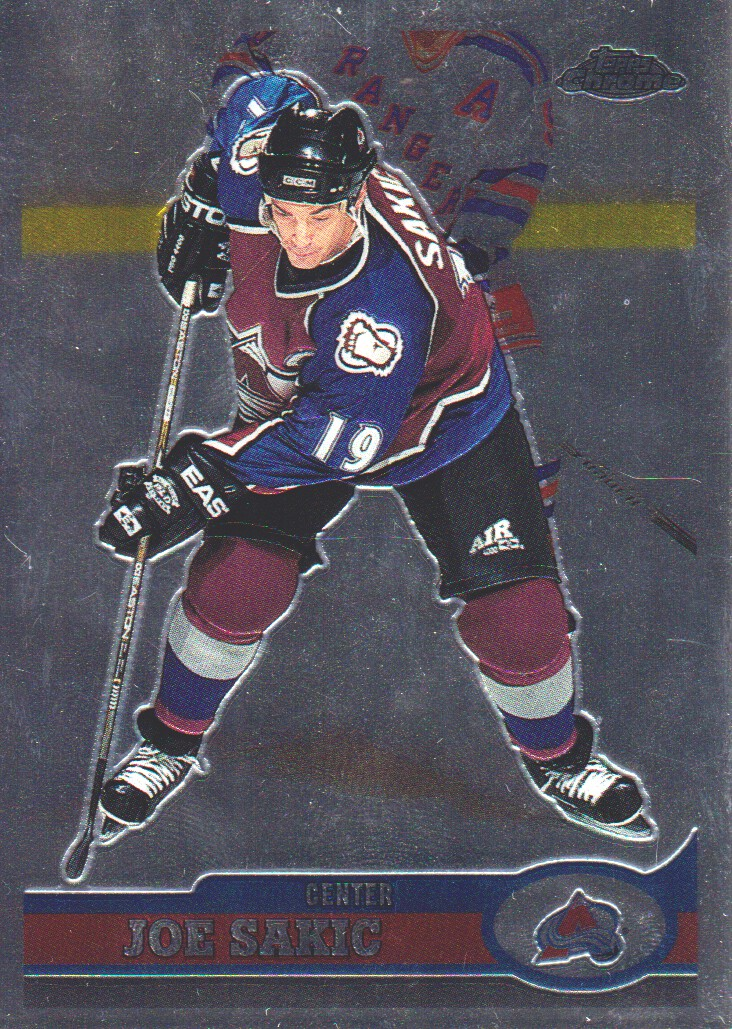 1999-00 Topps Chrome #1 Joe Sakic