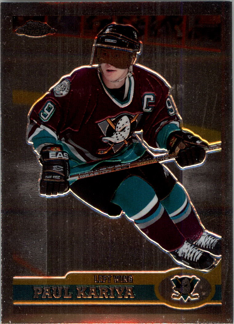 1999-00 Topps Chrome #3 Paul Kariya