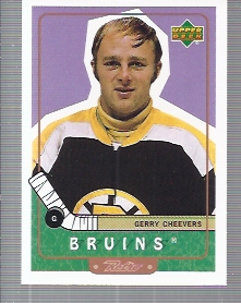 1999-00 Upper Deck Retro #92 Gerry Cheevers