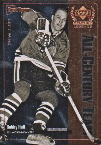 1999-00 Upper Deck Century Legends All Century Team #AC3 Bobby Hull