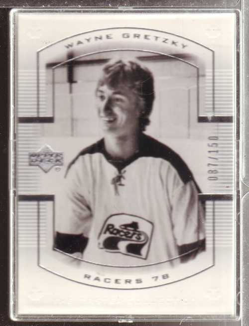 2000 Upper Deck Wayne Gretzky Master Collection #1 Wayne Gretzky