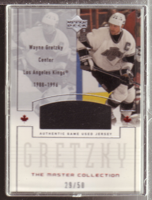 2000 Upper Deck Wayne Gretzky Master Collection Inserts #7 Gretzky LA/50