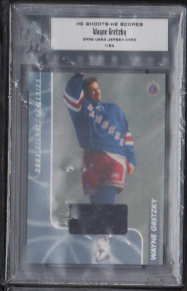 2000-01 BAP Signature Series He Shoots He Scores Prizes #11 Wayne Gretzky