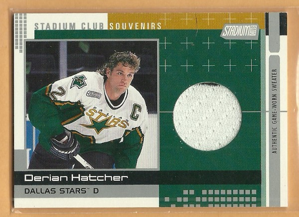 2000-01 Stadium Club Souvenirs #SCS3 Derian Hatcher