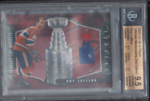 2001-02 BAP Ultimate Memorabilia Dynasty Numbers #6 Guy Lafleur