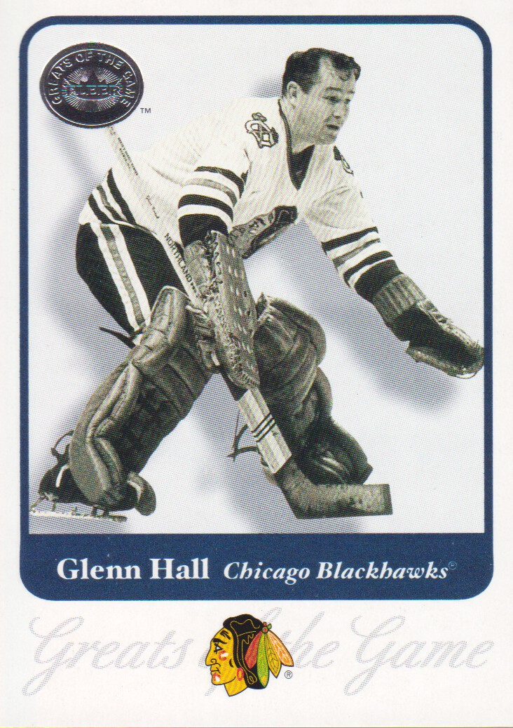2001-02 Greats of the Game #2 Glenn Hall