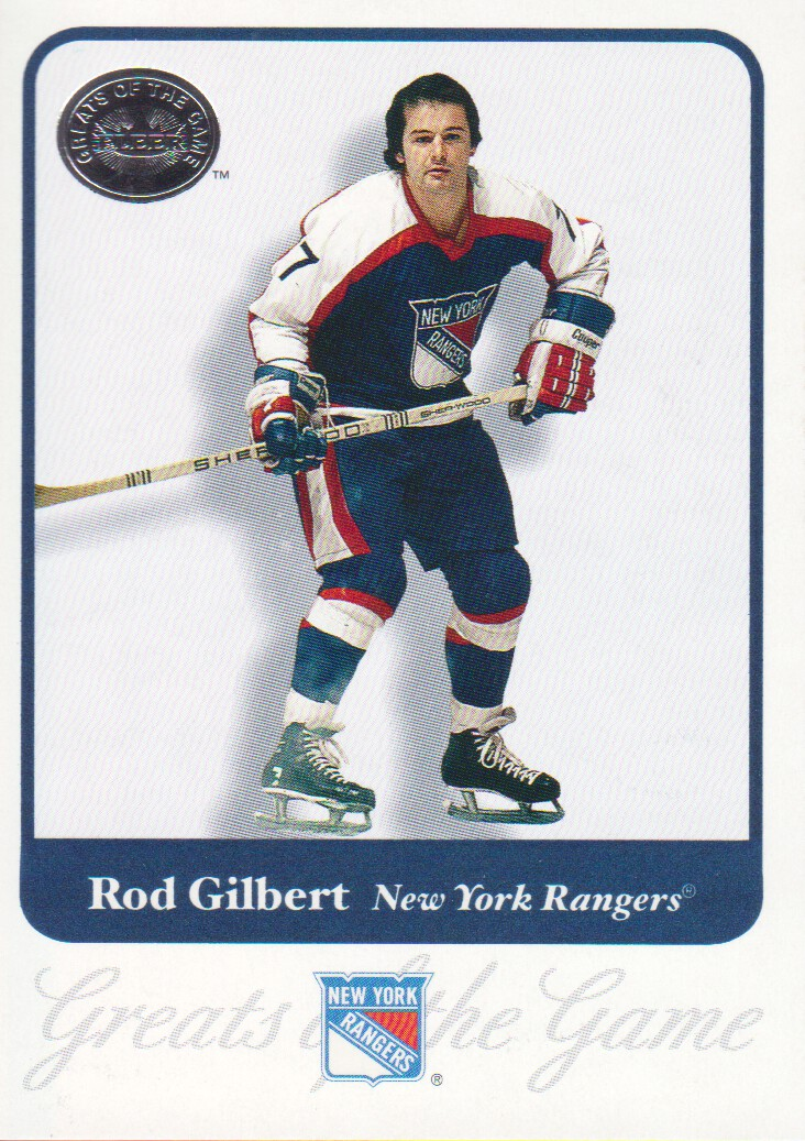 2001-02 Greats of the Game #23 Rod Gilbert