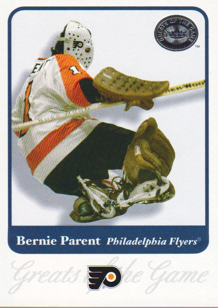 2001-02 Greats of the Game #41 Bernie Parent