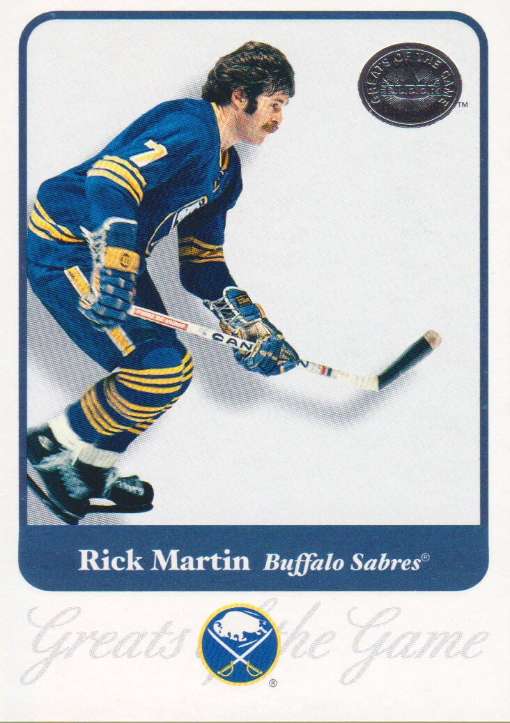 2001-02 Greats of the Game #49 Rick Martin