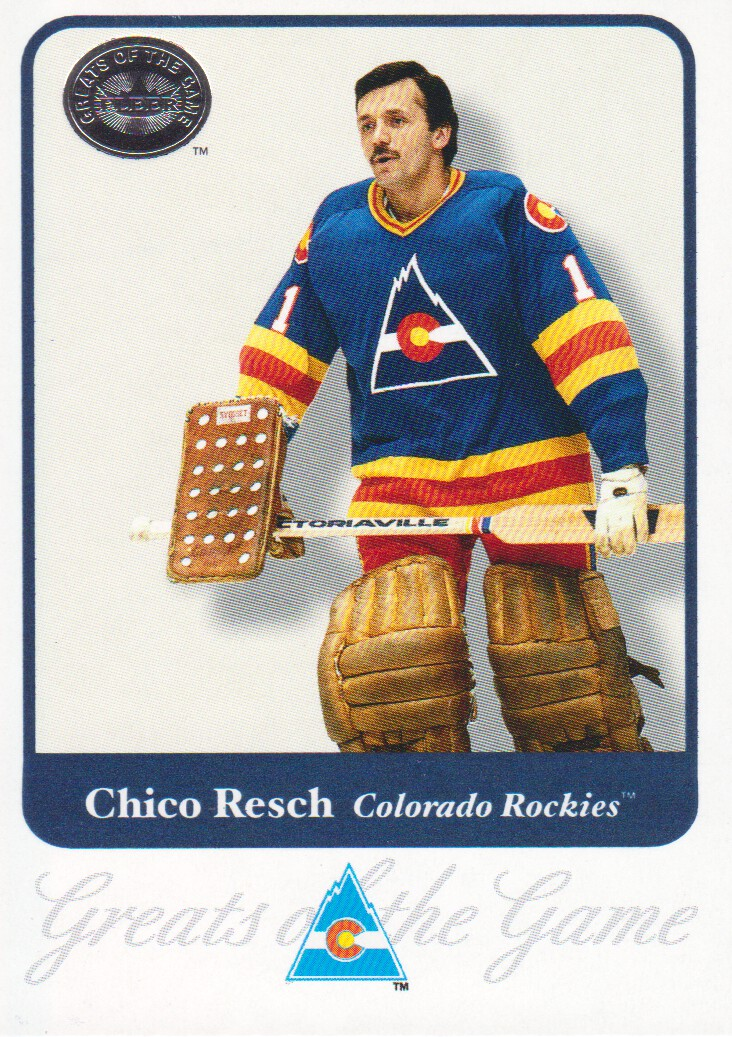 2001-02 Greats of the Game #64 Chico Resch