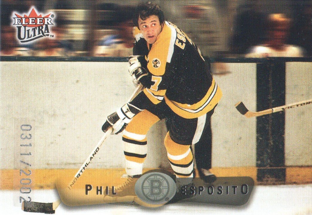 2001-02 Fleer Legacy #4 Phil Esposito SP
