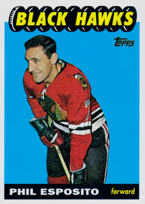 2001-02 Topps Rookie Reprints #3 Phil Esposito