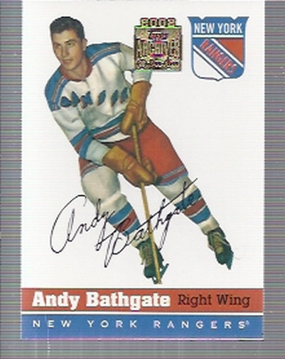 2001-02 Topps Archives #1 Andy Bathgate
