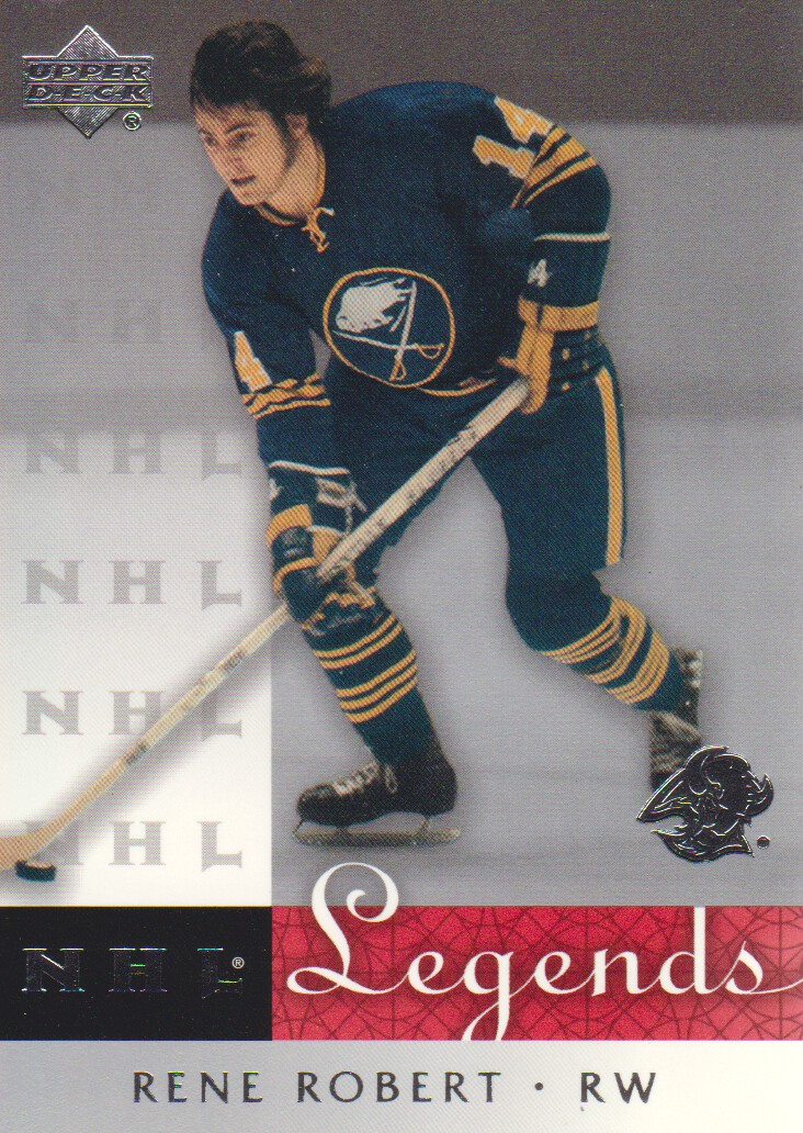 2001-02 Upper Deck Legends #8 Rene Robert