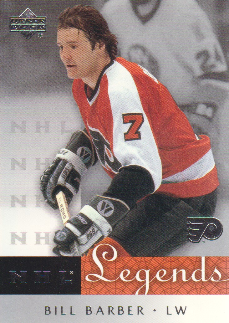 2001-02 Upper Deck Legends #55 Bill Barber
