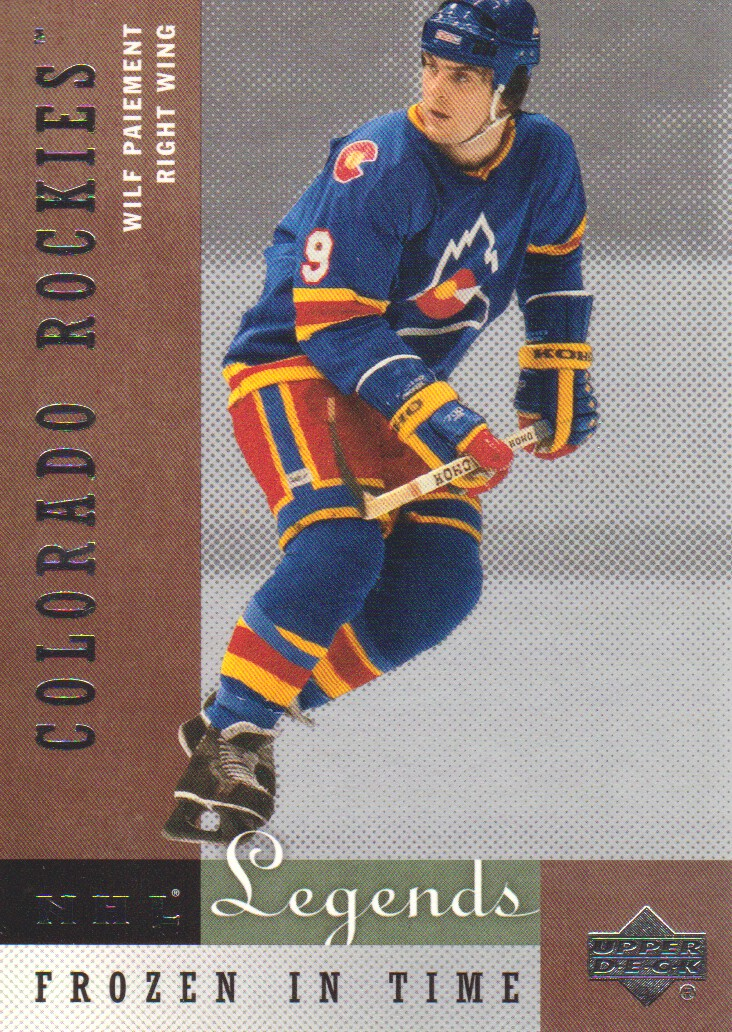 2001-02 Upper Deck Legends #72 Wilf Paiement
