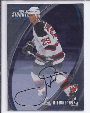 2002-03 BAP Signature Series Autographs #131 Joe Nieuwendyk SP