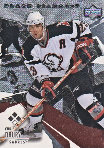 2003-04 Black Diamond #130 Chris Drury