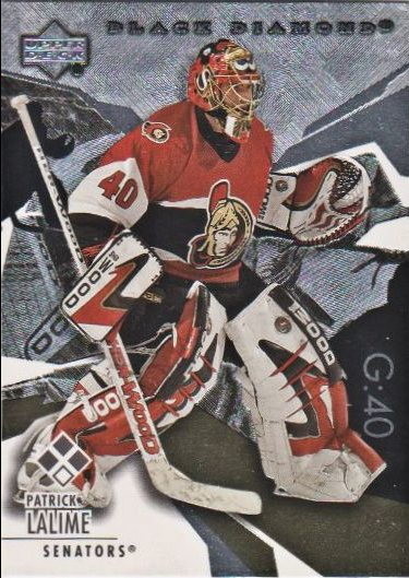 2003-04 Black Diamond #143 Patrick Lalime