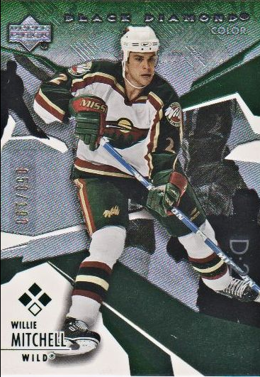 2003-04 Black Diamond Green #131 Willie Mitchell