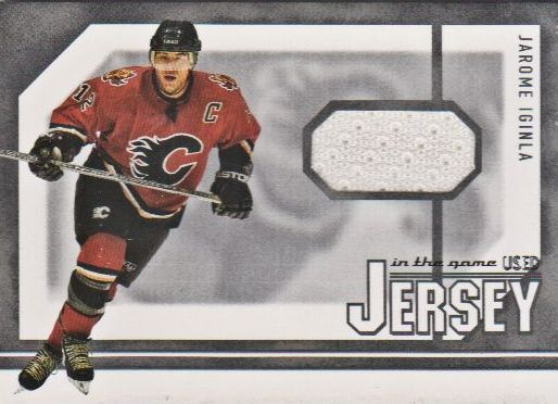 2003-04 ITG Used Signature Series Jerseys #12 Jarome Iginla
