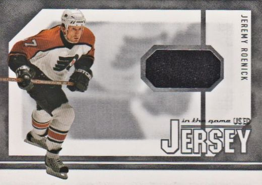 2003-04 ITG Used Signature Series Jerseys #15 Jeremy Roenick