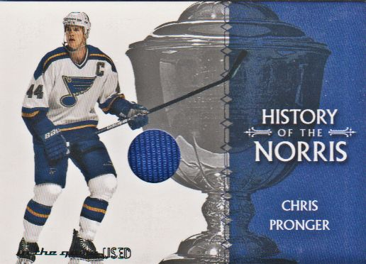 2003-04 ITG Used Signature Series Norris Trophy #2 Chris Pronger