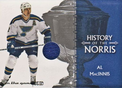 2003-04 ITG Used Signature Series Norris Trophy #3 Al MacInnis