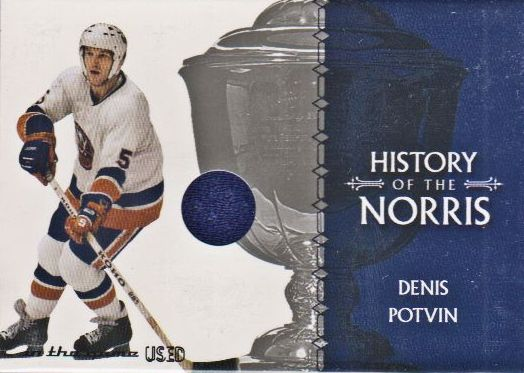 2003-04 ITG Used Signature Series Norris Trophy #12 Denis Potvin