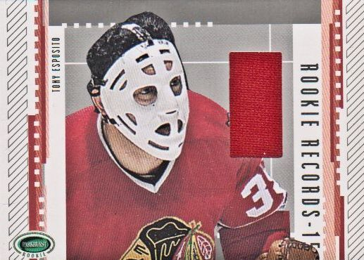 2003-04 Parkhurst Rookie Records Jerseys #RRE6 Tony Esposito